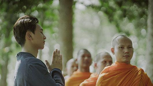 Ca sĩ Hoàng Kỳ Nam muốn Phật giáo đến gần hơn với giới trẻ