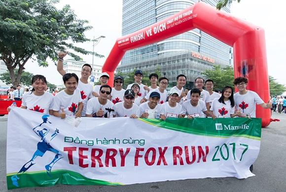 Chương trình Chạy bộ Từ thiện Terry Fox 2017 với các dự án nghiên cứu và điều trị bệnh ung thư