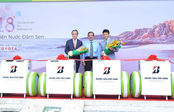 Bridgestone Việt Nam mong muốn áp dụng các sáng kiến công nghệ vì môi trường