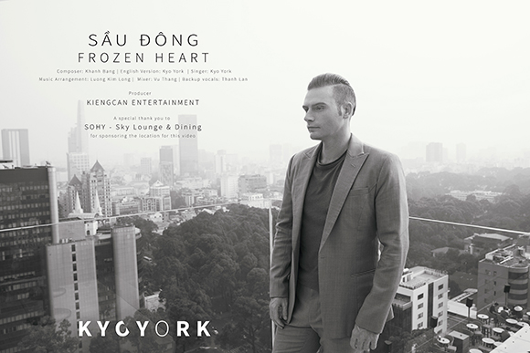 Kyo York lãng tử trong 'MV Sầu đông phiên bản song ngữ'