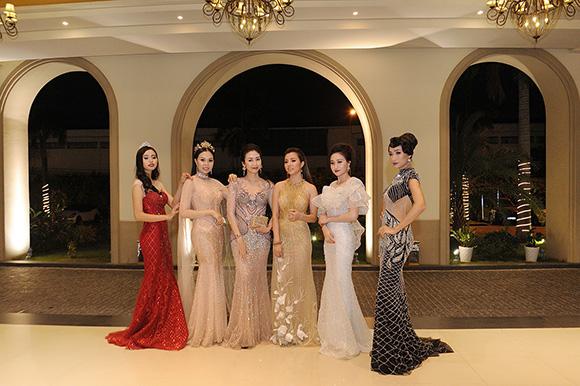 Người đẹp Bình Dương Nguyễn Thùy Trang khoe nét kiều diễm trong trang phục dạ hội