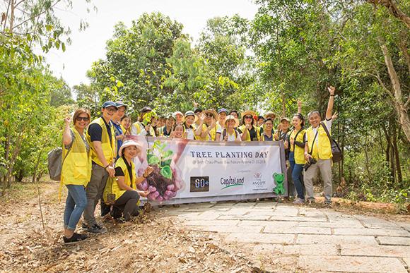 Lần thứ 11, CapitaLand triển khai 'Giờ Trái Đất' nhằm ủng hộ năm hành động vì khí hậu của Singapore