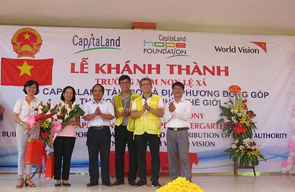 Trường mẫu giáo Lệ Xá CapitaLand Hope – Ngôi trường thứ ba CapitaLand tài trợ tại Việt Nam