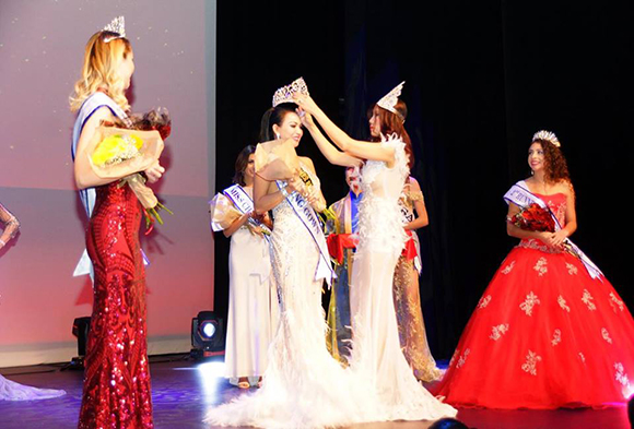 Trần Thị Thanh Tuyến bất ngờ đoạt danh hiệu Hoa hậu doanh nhân tại cuộc thi Ms World-AMERICA
