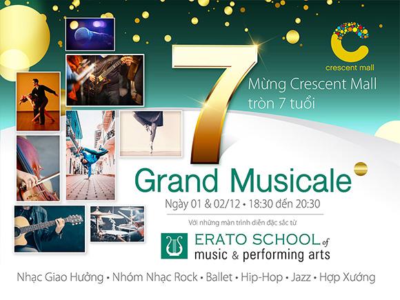 Crescent Mall tổ chức lễ hội Grand Musicale mừng sinh nhật tròn 7 tuổi