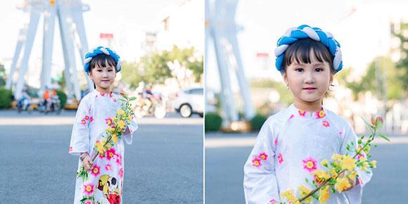 Nhìn là yêu thương đến không rời mắt với bộ ảnh Xuân của Á quân Model nhí Nguyễn Ngô Minh Anh.