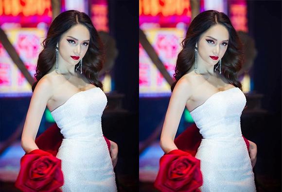 """Hương Giang làm vedette fashion show """"Colour Your Mood"""""""