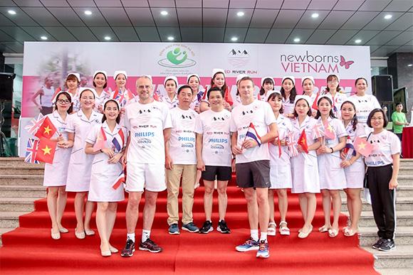 Đồng hành cùng giải chạy Hành trình Sông Hồng, Philips nỗ lực góp phần giảm thiểu tỷ lệ tử vong trẻ sơ sinh Việt Nam