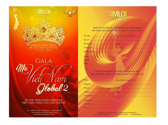 Hoa hậu, nam vương doanh nhân toàn cầu tại Mỹ chính thức nhận thí sinh đăng ký