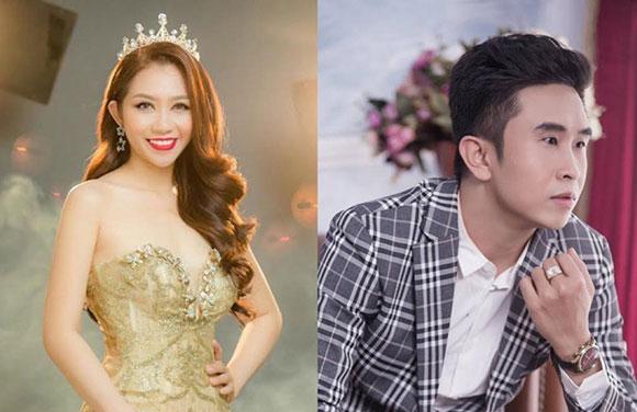 MC Tấn Văn, Lâm Trà Mi hội ngộ Hoa hậu Siêu quốc gia Mutya Johanna Datul tại Philippines