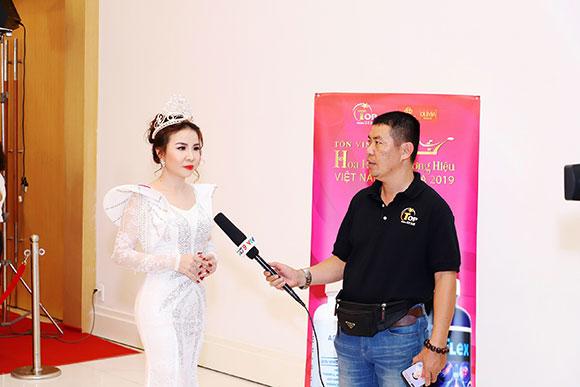 Á Hậu Phan Phương nhận lời mời vào vị trí Hội đồng Thẩm Định Sắc đẹp cuộc thi Hoa Hậu Thương hiệu Việt Nam Olivia