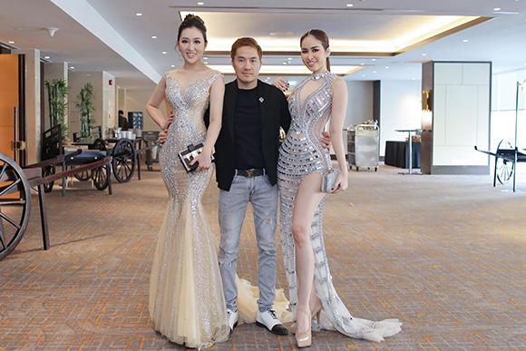 Ngô Đình Hòa hội ngộ 2 mỹ nhân tại khách sạn hạng sang giữa Sài Gòn