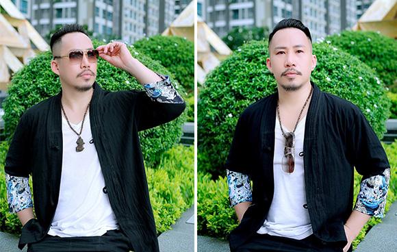 Nhà sản xuất âm nhạc Huỳnh Nhật Đông trẻ trung với gu thời trang đường phố