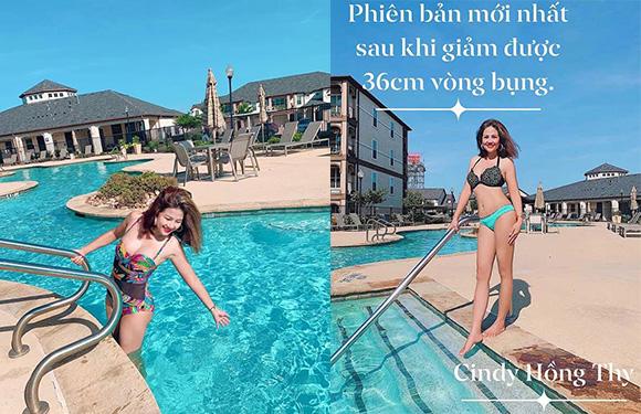 """Hoa hậu Hồng Thy """"Người truyền cảm hứng trong việc giảm cân thần kỳ"""""""