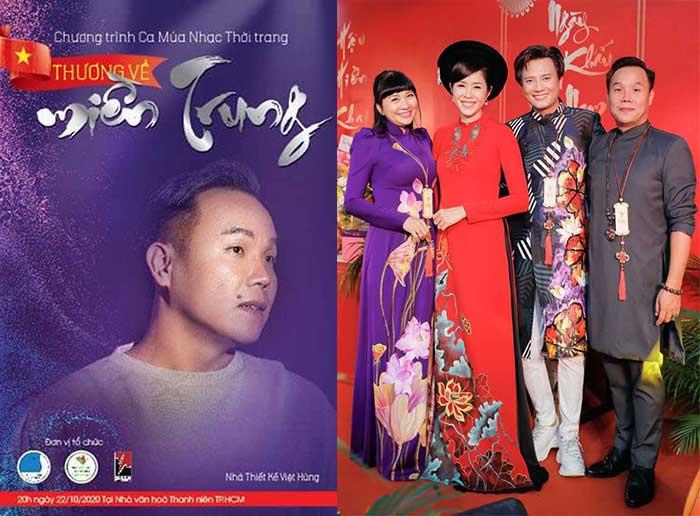 """NTK Việt Hùng và những tấm lòng Nghệ sỹ trong đêm Nghệ thuật """"Thương về miền Trung"""""""