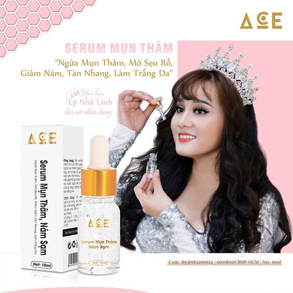 Hoa hậu Nhã Linh chính thức là đại sứ thương hiệu của Công ty mỹ phẩm Kim Ngân