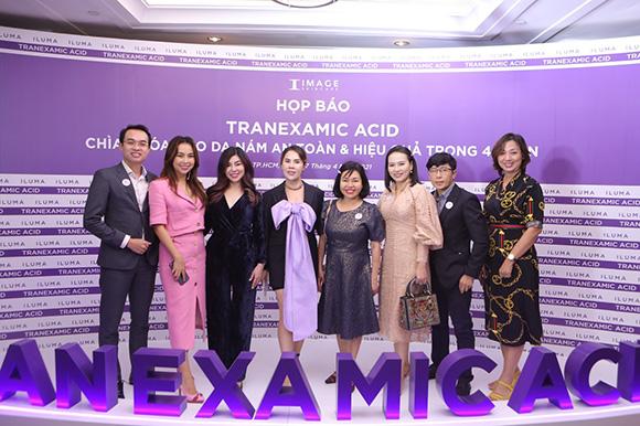 CEO Phan Thị Thanh Thúy, Tổng giám đốc Minh Khương Group phát biểu trong họp báo với mong muốn mang đến cho mọi người vẻ đẹp hoàn mỹ nhất