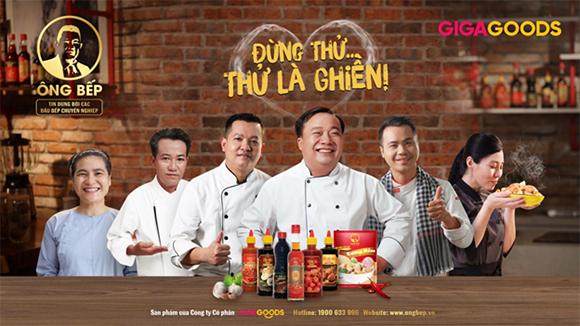 """Giga1 trở thành đối tác chiến lược của Ông Bếp - Nhãn hàng gia vị """"100% made in Việt Nam"""""""