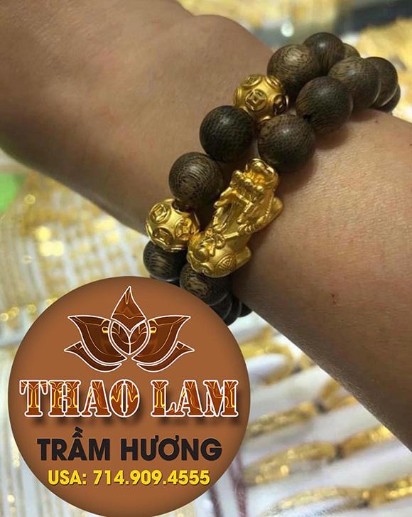 Thảo Lâm Trầm Hương kết Vàng 18k Gold- sức khỏe và sắc đẹp cho mọi nhà